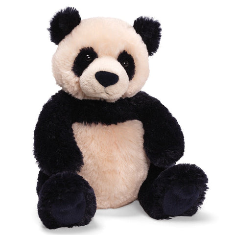 "Zi-Bo Panda Teddy Bear Small - 12"" - Gund - Plush Friends"
