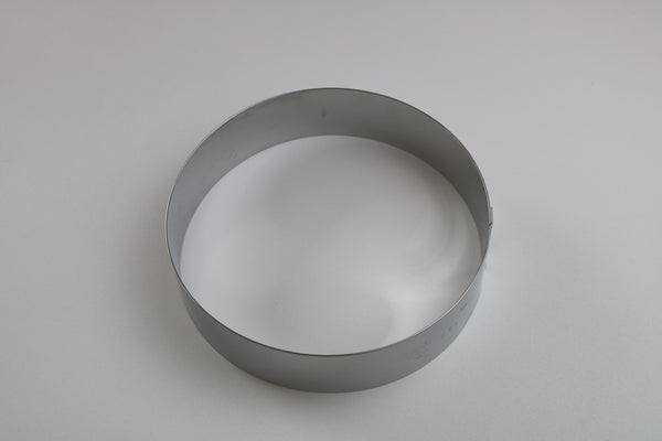 Picture of a round entremet ring