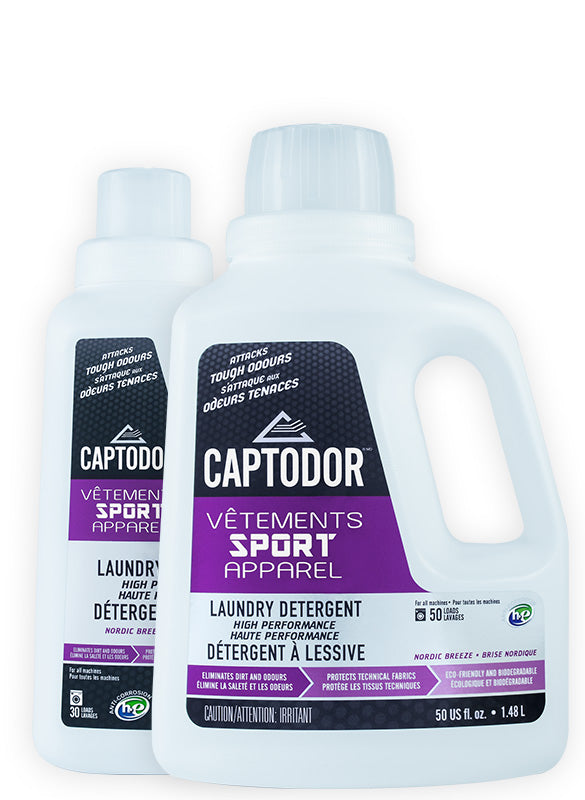Captodor Laundry Detergent - 900 ML - O'Reilly Sports