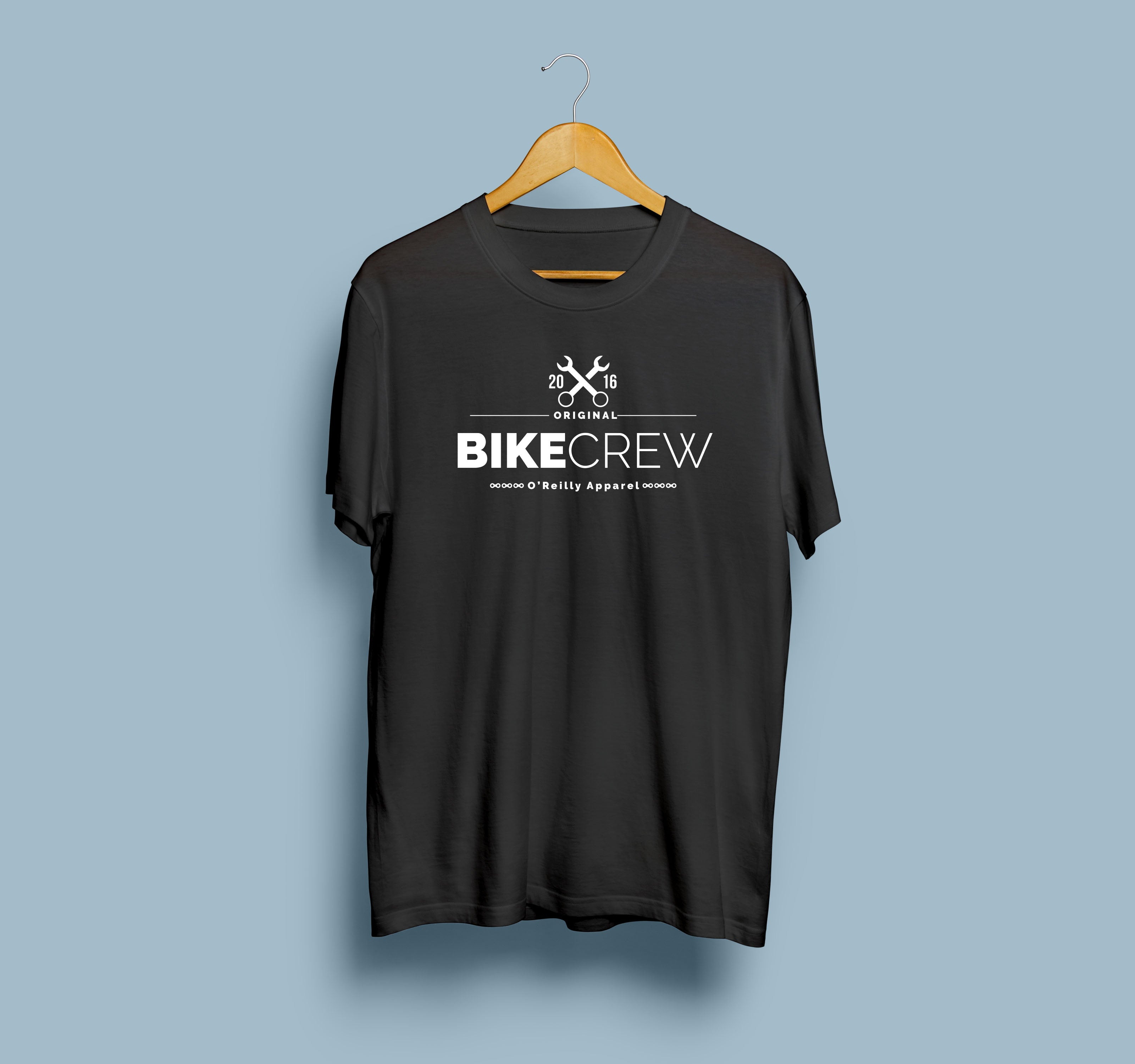 O'Reilly Bike Crew T Shirt - O'Reilly Sports