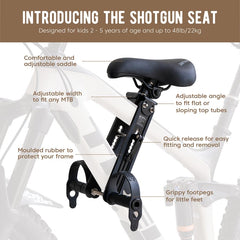 Shotgun Baby Bike Seat - O'Reilly Sports
