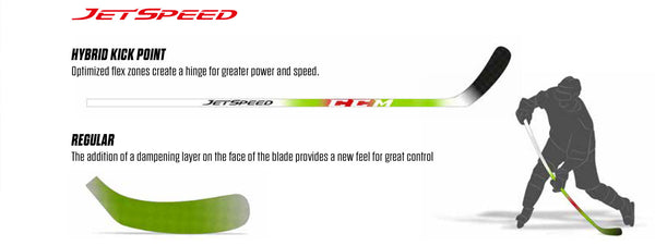 CCM Jetspeed JR Hockey Stick - O'Reilly Sports