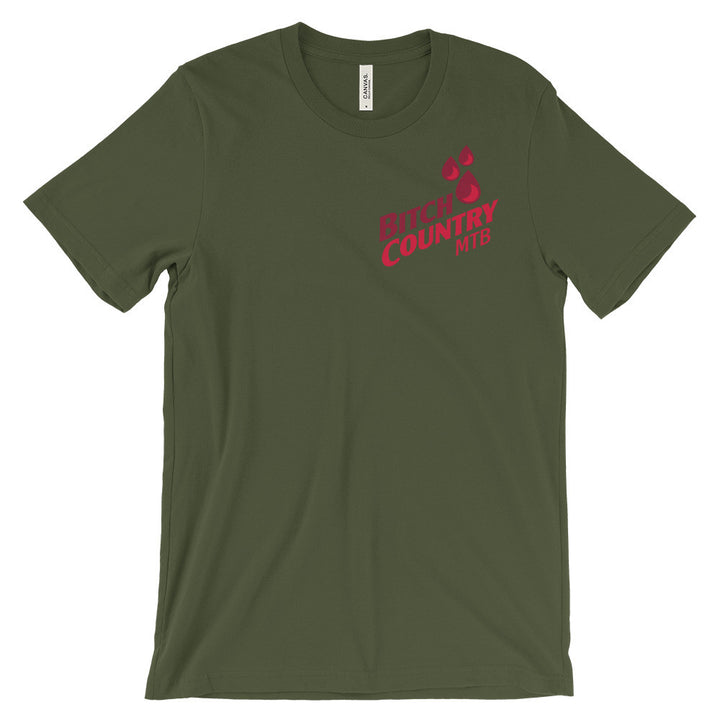 Bitch Country Unisex Short Sleeve Tee