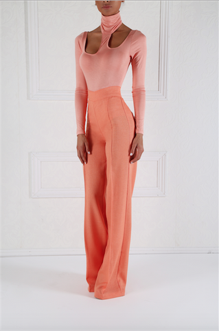 Victoria High Waist Wide Leg Pants