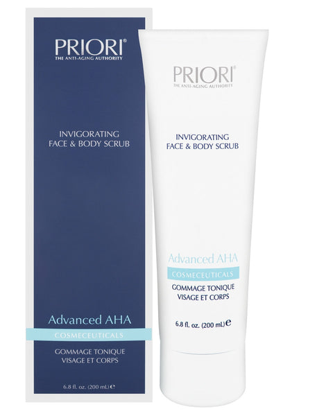 PRIORI Advanced AHA Invigorating Face & Body Scrub 200ml