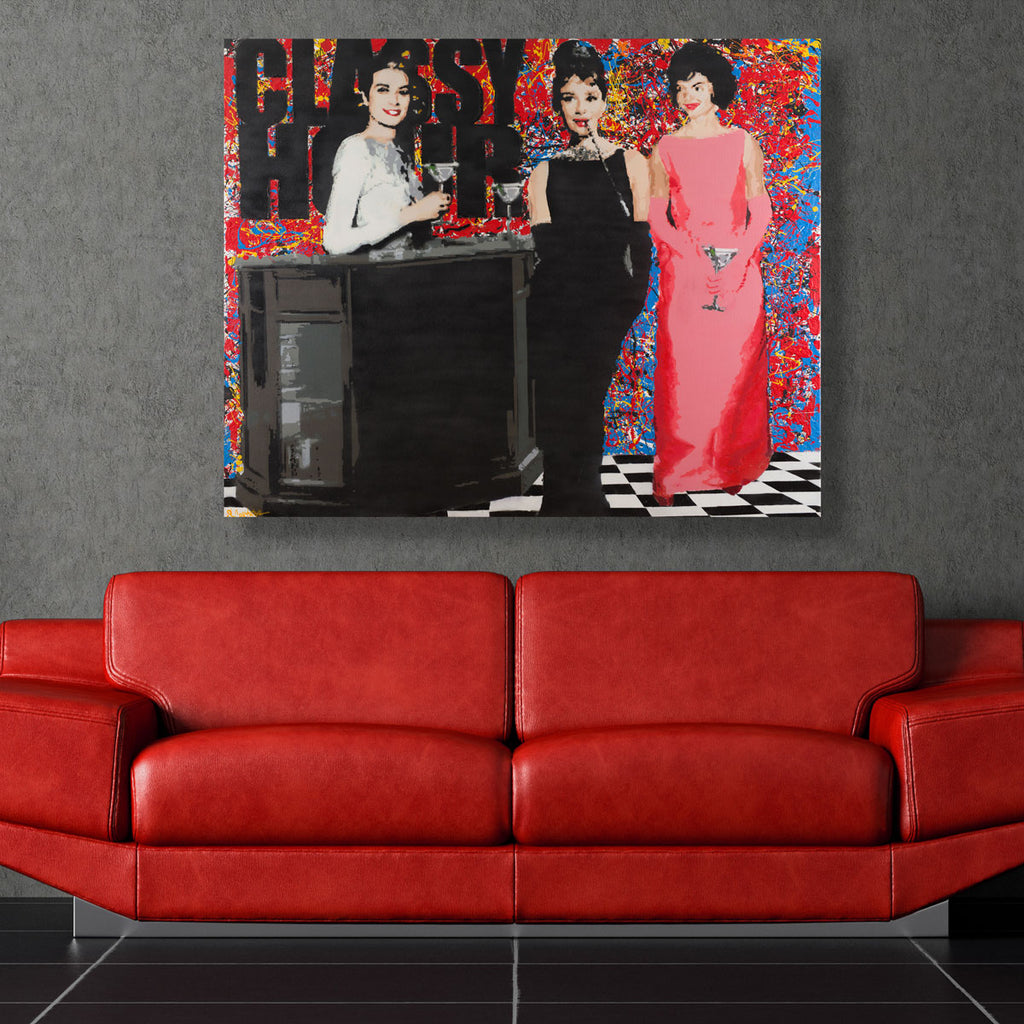 Classy Hour - Prints - Spencer Couture Art