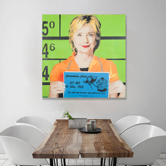 Hillary - Prints - Spencer Couture Art