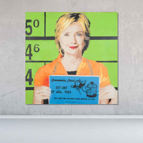 Hillary Original Painting - Originals - Spencer Couture Art