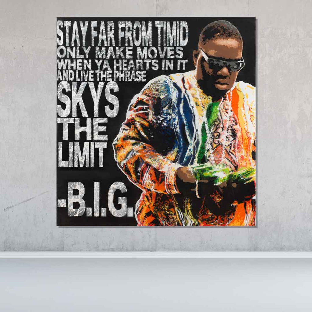 Sky's The Limit Original Painting - Originals - Spencer Couture Art