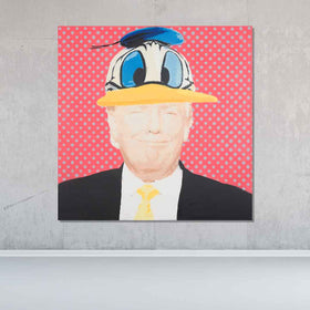 The Donald Original Painting - Originals - Spencer Couture Art
