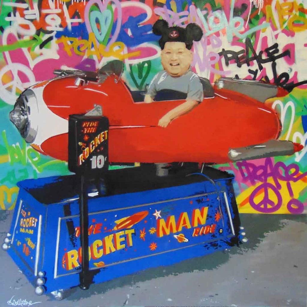 Rocket Man - Prints - Spencer Couture Art