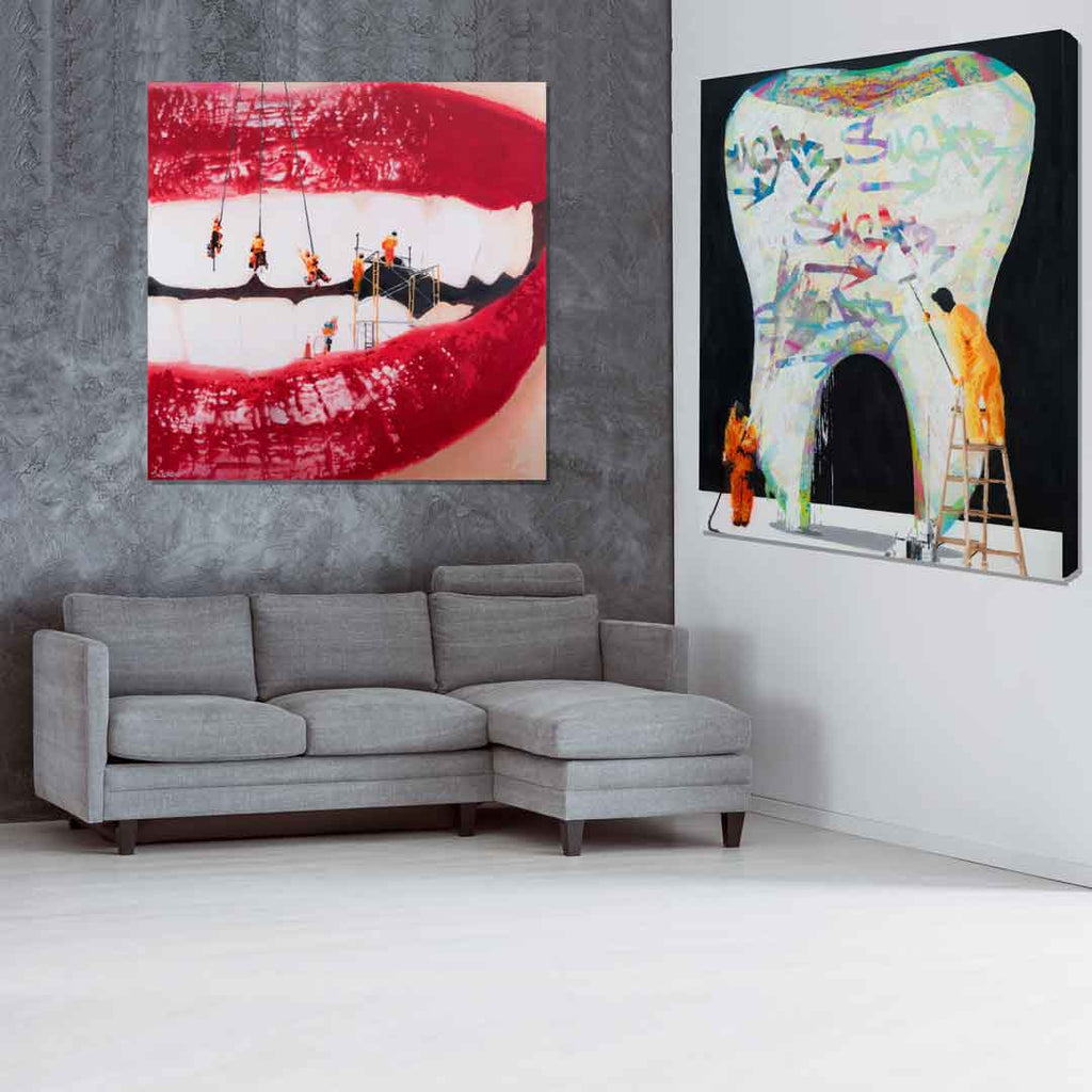 Spencer Couture Dentist Office Art Sugar Buildup