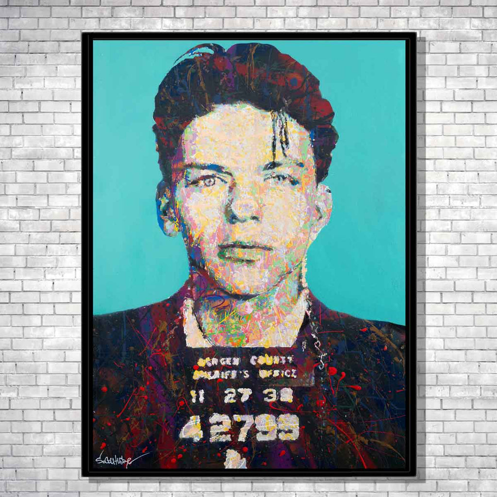 Frank Sinatra Spencer Couture Art Limited Edition Pop Art Canvas Prints