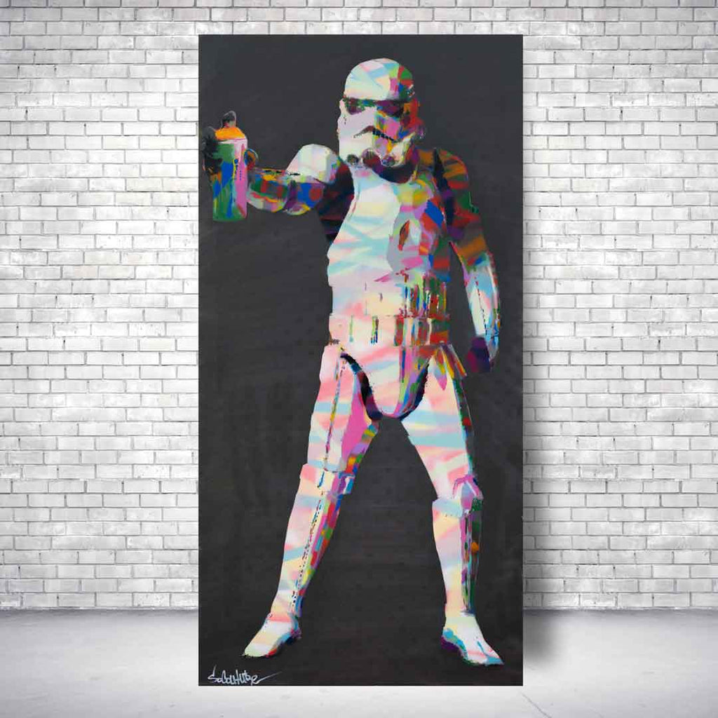 Spencer Couture Art Limited Edition Star Wars Canvas Print
