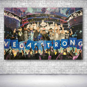 Vegas Strong Charity Painting - Prints - Spencer Couture Art