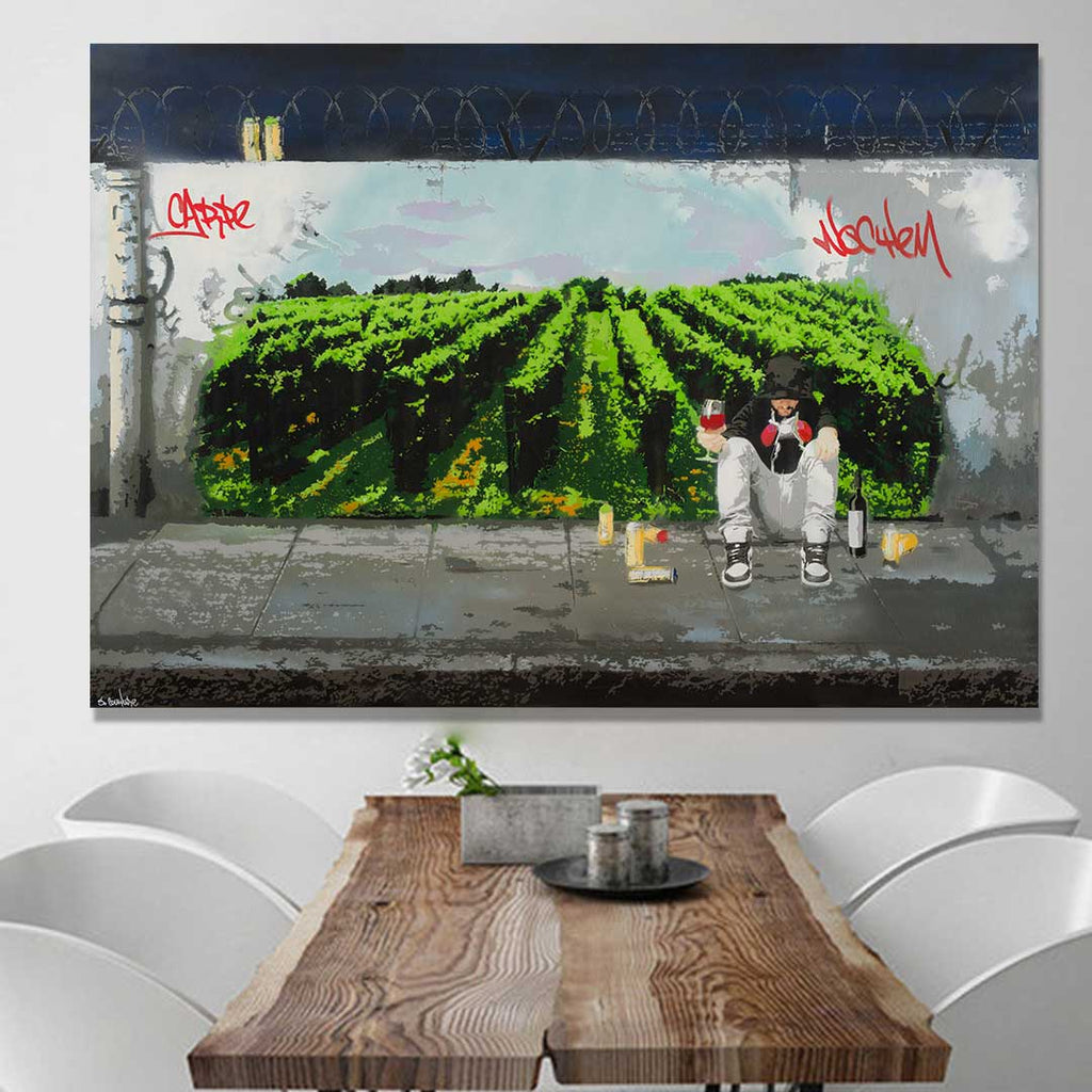Urban Vineyard - Prints - Spencer Couture Art