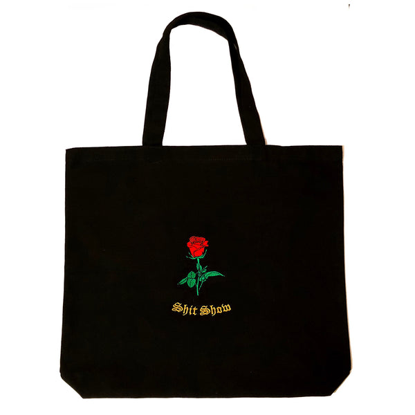 Shit Show Rosebud Tote Bag