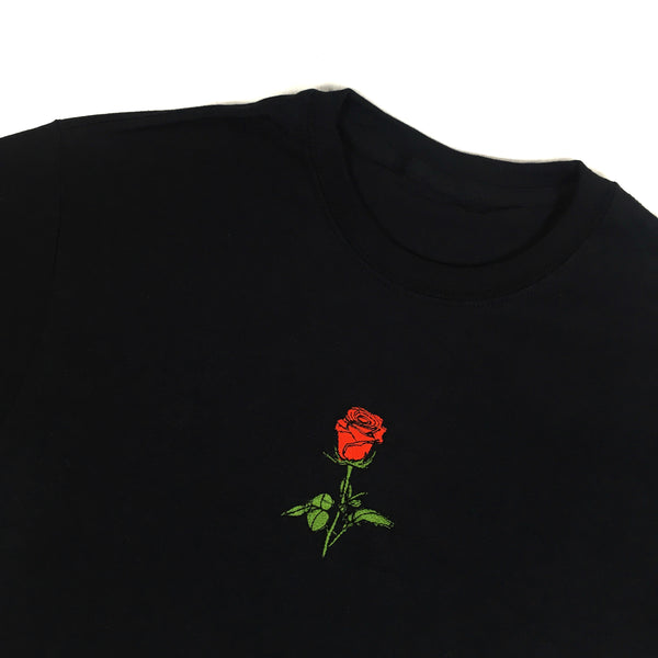 Rosebud Embroidered T-Shirt