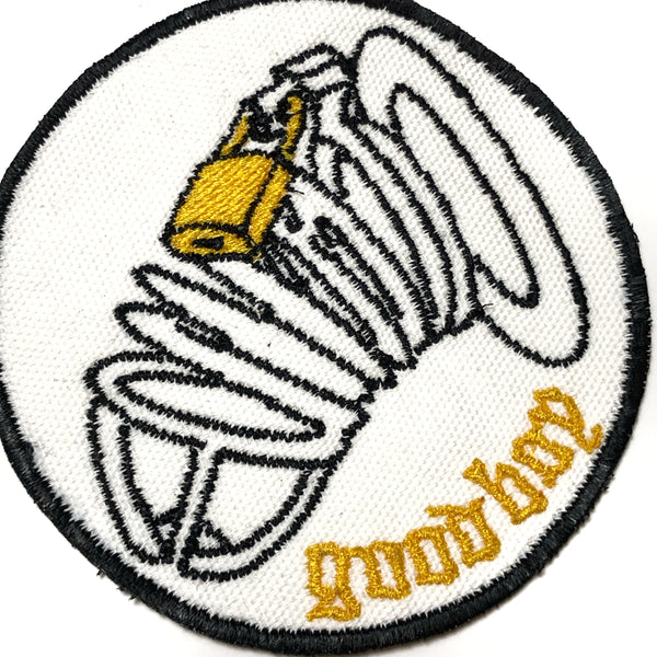 Good Boy Chastity Patch - White
