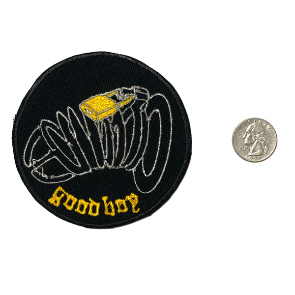 Good Boy Chastity Patch - Black