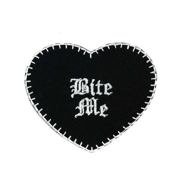 Bite Me Heart Patch