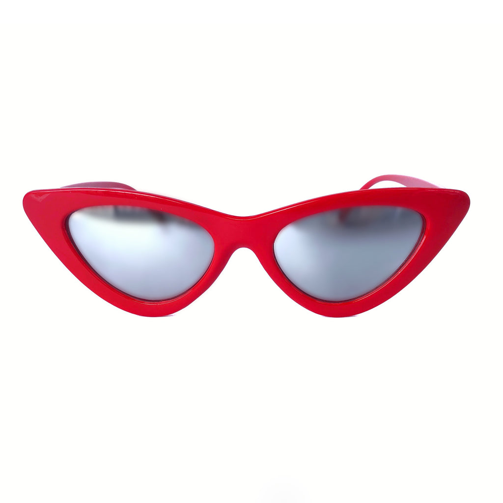 Betty Sunglasses: Red