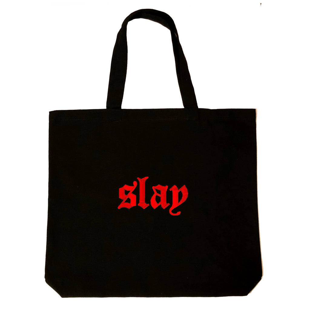 Slay Red Tote Bag