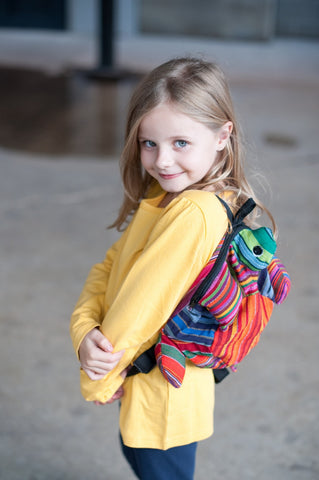 Guatemalan Animal Backpack