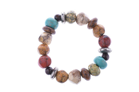 Multi Color Stretch Bracelet