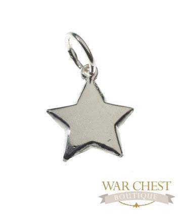 Sterling silver star pendant war chest boutique sterling silver star pendant mozeypictures Image collections