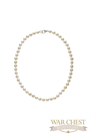 "White Pearl 16"" Necklace"