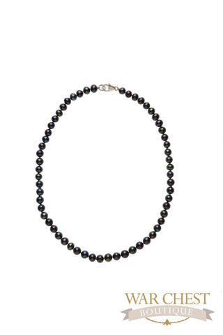 "Black Pearl 18"" Necklace"
