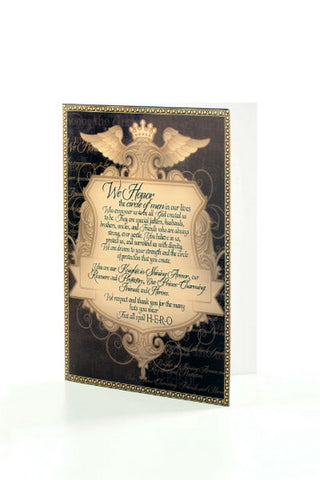 Men of Honor Greeting Card - Stationary - WAR Chest Boutique