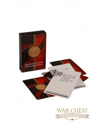 WAR Conversation Cards