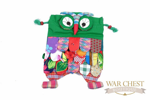 Owl Backpack: Colors Vary