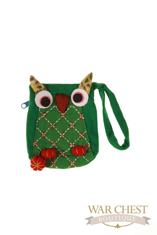 Owl Wristlet: Colors Vary