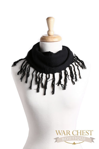 Fringed Square Scarf