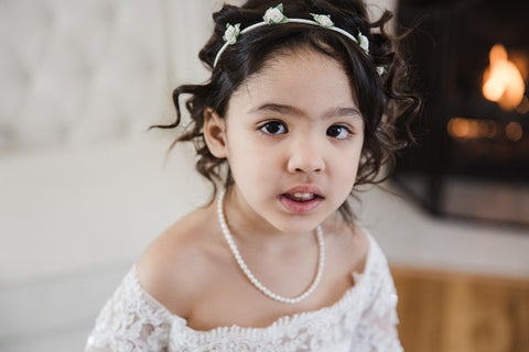 Dainty Pearl Children Necklace