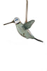 Glass Hummingbird Green - Ornaments - WAR Chest Boutique