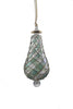 Beribboned Pear Ornament Green - Ornaments - WAR Chest Boutique