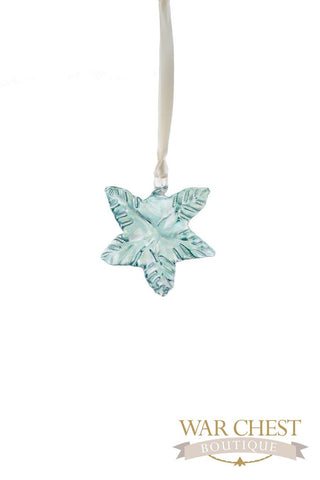 Maple Leaf Glass Ornament - Ornaments - WAR Chest Boutique