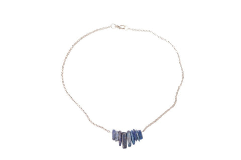 Lapis Chip Necklace