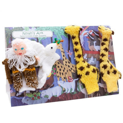 4 Finger Puppet Set Noah's Ark
