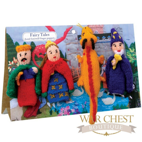 4 Finger Puppet Set Fairy Tale