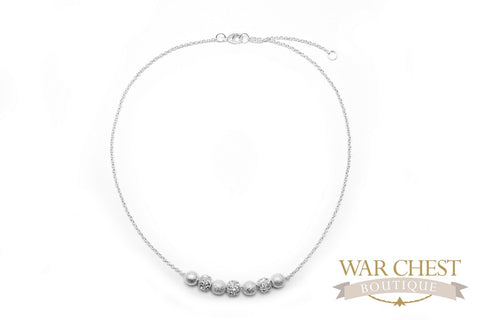 Frosted Sparkle Necklace
