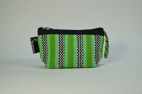 Handwoven Coin Purse - Colors Vary