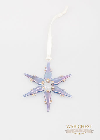 Snowflake Ornament Blue