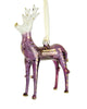 Reindeer Ornament Purple - Ornaments - WAR Chest Boutique