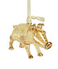 Pig Ornament Yellow
