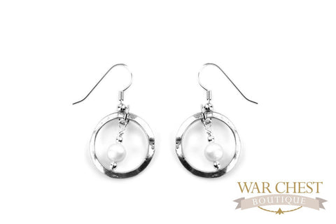 Pearls of Protection Earrings